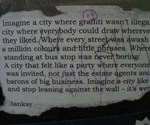 BANKSY and graffiti image