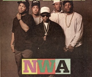 ice cube and n.w.a image