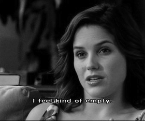 quote, empty, and one tree hill image