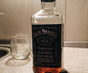 chocolate, glass, and jackdaniels image