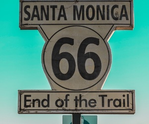 california, retro, and route 66 image