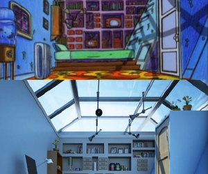 hey arnold, room, and bedroom image