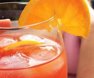 coctail, feeling, and orange image