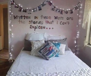 bedroom, room, and story of my life image