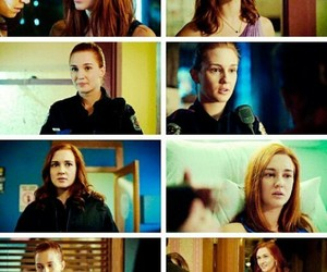 wayhaught, waverly earp, and nicole haught image