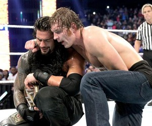 wwe, roman reigns, and dean ambrose image