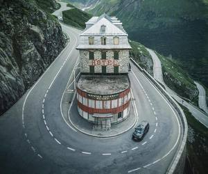 hotel, abandoned, and places image