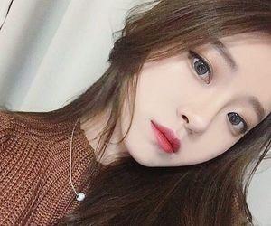 korean, cute, and girl image