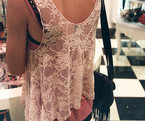 girl, lace, and fashion image