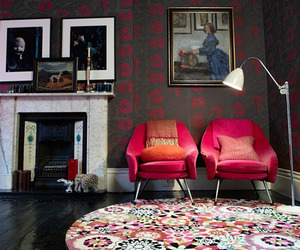 colorful decor, home decor, and eclectic decor image