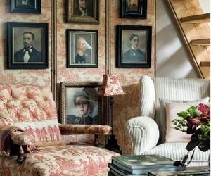 armchair, home decor, and living room image