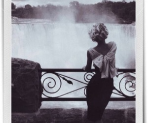 black and white, vintage, and Marilyn Monroe image