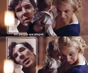 bbc, quotes, and sherlock holmes image