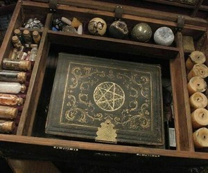 witch, magic, and wicca image