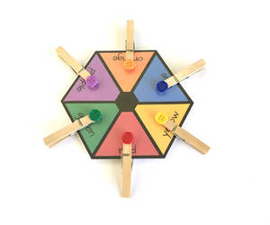 color wheel, etsy, and toddler toys image