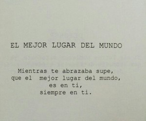 love, frases, and world image