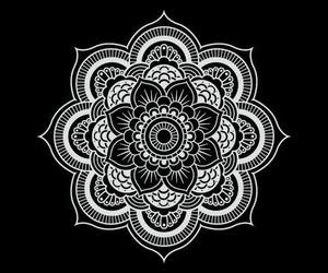 mandala, edits, and superimposed image
