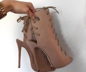 fashionista, heels, and suede image