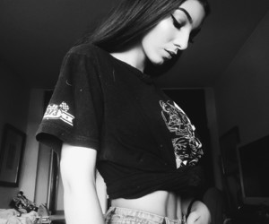 aesthetic, b&w, and fashion image