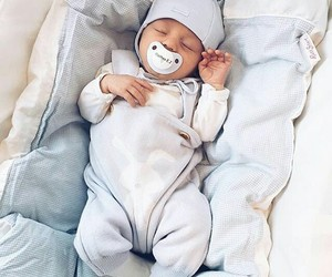 baby, beautiful, and sweet image