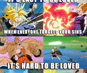 life quotes, dbzmeme, and dbz quote image
