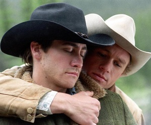 brokeback mountain, gay, and love image