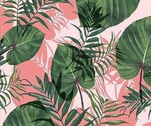 art, green, and pattern image