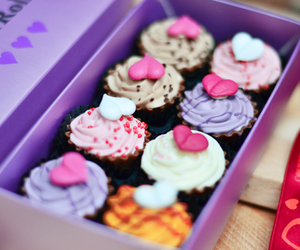 cupcakes, pretty, and delicious image