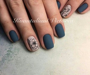 beauty, manicure, and nail image
