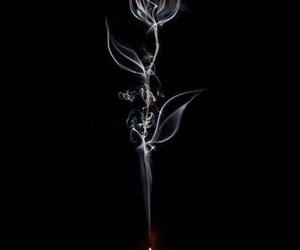art, black, and candles image