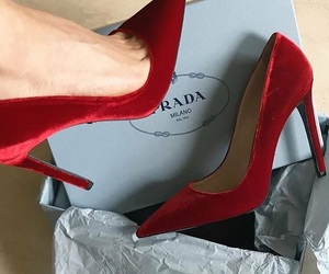 shoes, heels, and Prada image