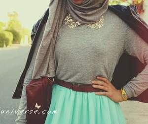 hijab, style, and ستايل بنات image