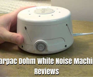 white noise machine, marpac dohm, and dohm sound machine image