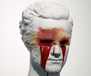 blood, art, and sculpture image