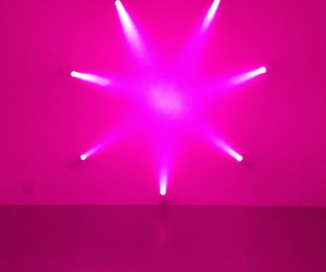 installation and pink image