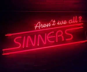 light, red, and sinners image
