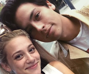 couple, betty cooper, and lili reinhart image