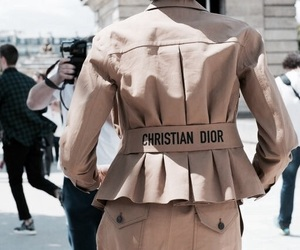 fashion, style, and Christian Dior image
