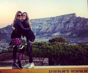 cape town, hiking, and love image