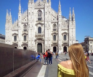 blonde, duomo, and girly image