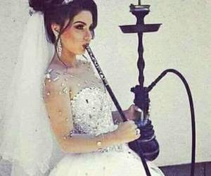 bride and shisha image