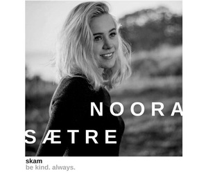 black and white, skam, and noora sætre image