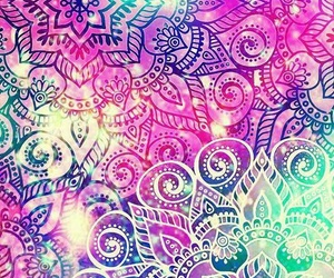 background, galaxy, and pattern image