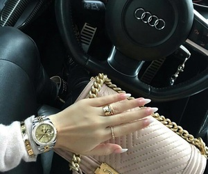 nails, chanel, and luxury image