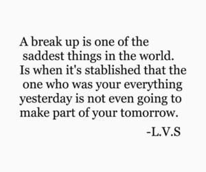 quote, sad, and breakup image