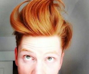 beautiful, ginger boy, and ginger hair image