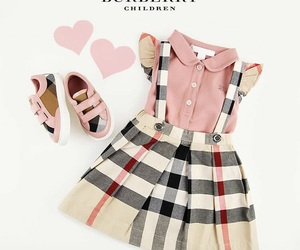 Burberry, children, and fashion image