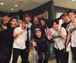 exo, Chen, and kai image