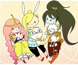 adventure time, marceline, and cake image