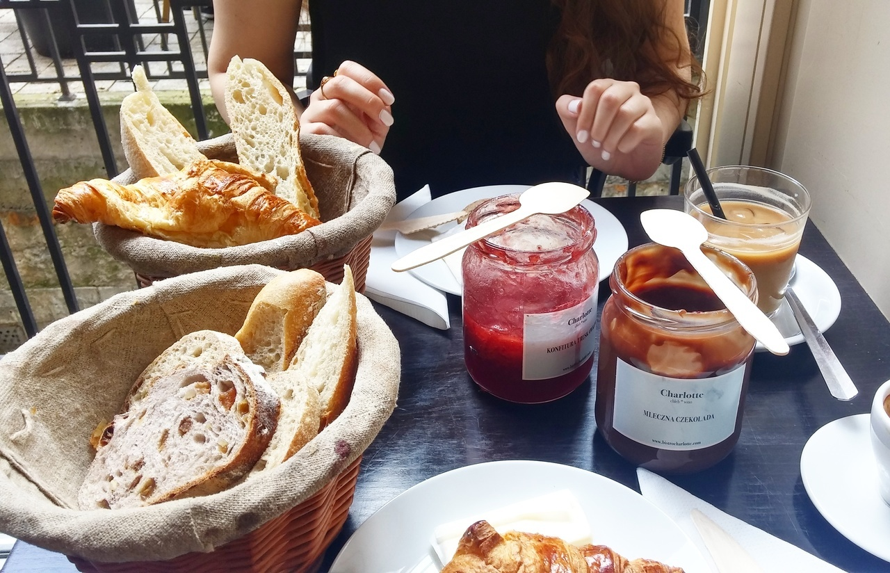 bread, brunch, and breakfast image